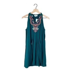 NWT THML Roonie Embroidered Trapeze Dress